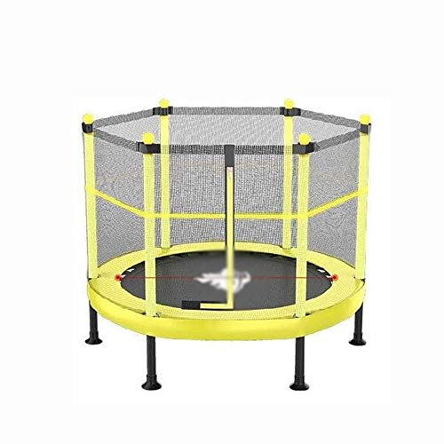JCCOZ-Trampoline Trampolin for den Innen- und Außen Spielzeug mit Sicherheitszaun und 360 ° Grad Padded Trampoline for Kinder von 50 bis 300 kg 48 Zoll Trampoline (Color : 48inch)
