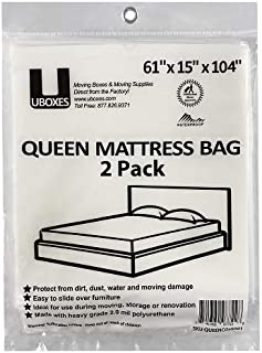 UBoxes Queen Mattress Moving Cover, 2 Pack