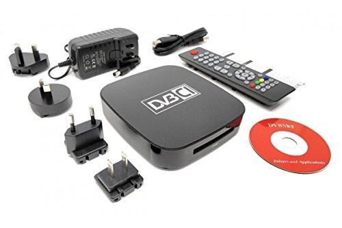 Dvbsky S960C V2 USB Box mit 1x DVB-S2 Tuner und CI Common Interface Slot für PayTV, Netzteil für 4 Länder (UK/EU/US/AU)