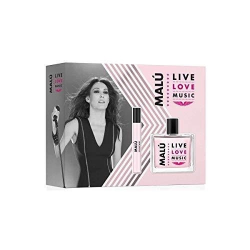 Malu Malu Love Live Music Rosa Col.Vapo.100+Vial 10Ml (Estu) B-8-10 ml