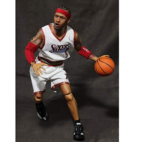 Good Buy NBA Action Figure Allen Iverson #3 PHI Home [Partes reemplazables] Figure