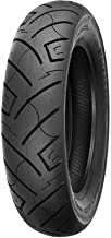 150/80B-16 (77H) Shinko 777 H.D. Rear Motorcycle Tire Black Wall for Harley-Davidson Softail Heritage Classic FLSTC (ABS) 2011-2013