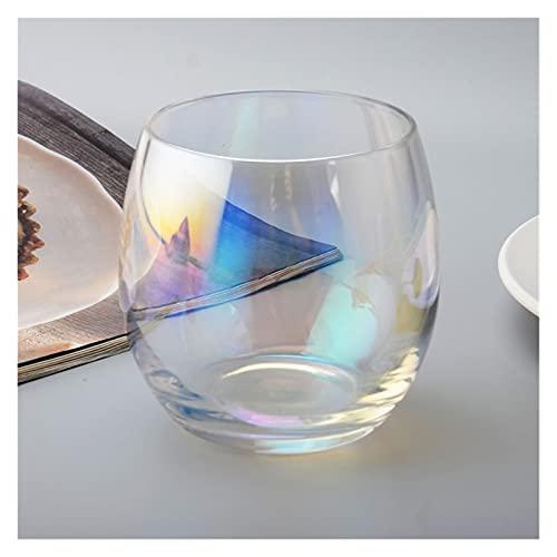 zis 300 ml colorato tazza di caffè tazza di vino bicchieri di bicchieri di bicchieri di bicchieri da birra bicchieri di bicchieri da bere resistenti al calore sparato in vetro drinkware bicchiere amic