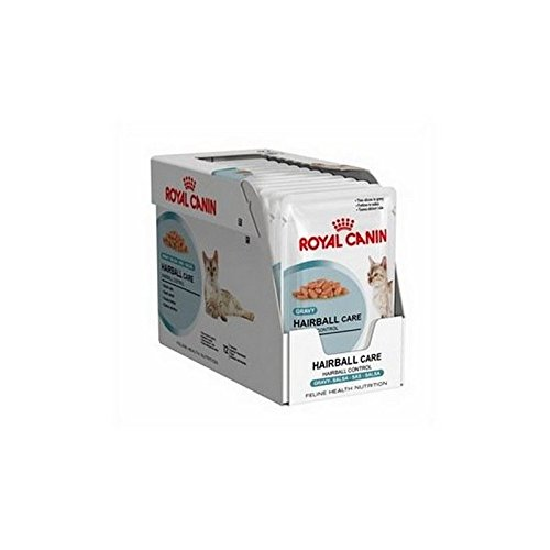 Royal Canin Hairball Care in Gravy Cat Food Pouch 12 x 85g