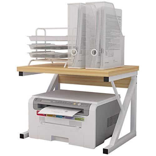 Fax HUANUO Druckerst/änder Dokumentarablage oder Anderer B/ürobedarf H/öhenverstellbarer Druckerwagen mit Schubladen Robust und flexibel St/änder f/ür Drucker Scanner