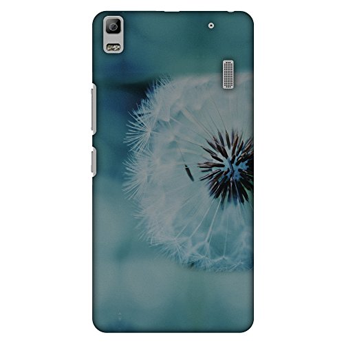 AMZER Slim Handcrafted Designer Printed Hard Shell Case for Lenovo K3 Note, A7000 Turbo - Dandelion Close By
