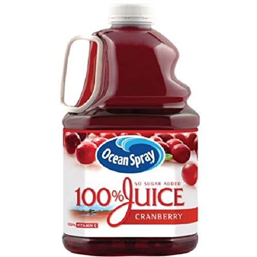 Ocean Spray 100% Juice, Cranberry, 101.4 Fl Oz, 1 Count (Pack of 1)