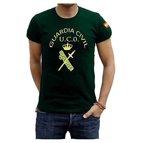 Piel Cabrera Camiseta Guardia Civil UCO