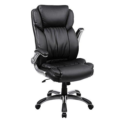 SONGMICS Extra Big Office Chair High Back Executive Chair with...