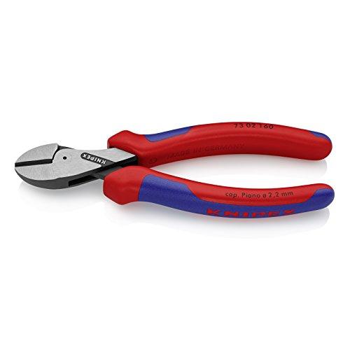 KNIPEX X-Cut Alicate de corte diagonal compacto gran efecto palanca (160 mm) 73 02 160