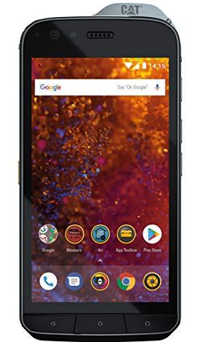 CAT Phone S61 com Câmera Térmica FLIR, Medidor de Distância Laser, Monitor de Qualidade do Ar, IP69 A prova d'água, atende Military MIL SPEC 810G Certified, 4+64GB Dual SIM Desbloqueado 4G LTE