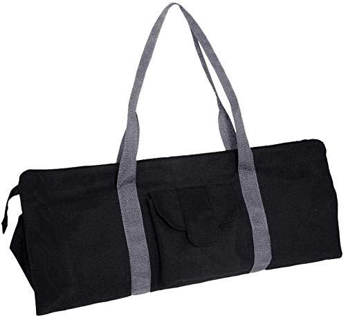 Bolsa grande para esterilla de yoga y portadores compactos con bolsillos, 651828 cm, se adapta a la mayoría de tamaños de colchoneta, extra ancho, fácil acceso