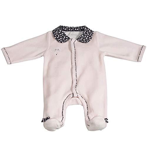 Pyjama bébé rose 1 mois Miss Fleur de Lune - Sauthon