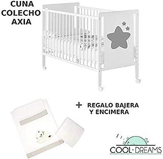 d7d14a9ae Cuna colecho de bebé Axia (5 alturas de somier) + kit colecho incluído +