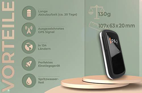 Allround Finder von PAJ GPS Tracker zur Live Ortung von Personen und Fahrzeug KFZ mit bis zu 30 Tagen Akku Abbildung 2