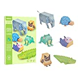 Andreu Toys- Origami Paper Animals Papel, Multicolor (MD4082)
