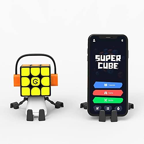 GiiKER Cubo conectado integrado Bluetooth,Cubo mágico de velocidad 3x3 para todos los niveles,Puzzle STEM habilitado inteligente para todas las edades