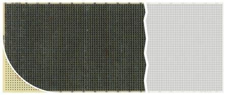 RE210-S3-Prototypenplatine, Epoxidglas, 1.5mm, 100mm x 580mm