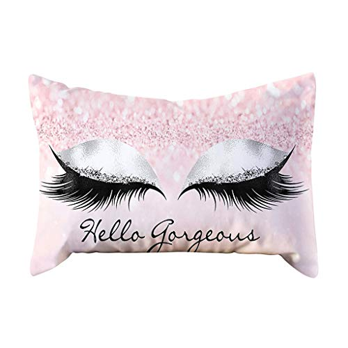 YIHANK Cushion Covers Decorative Eyelash Out Soft Velvet Cushion Cover 30x50cm Marble Pillow Cases for Sofa Chair Couch/Bedroom Decorative Pillowcase