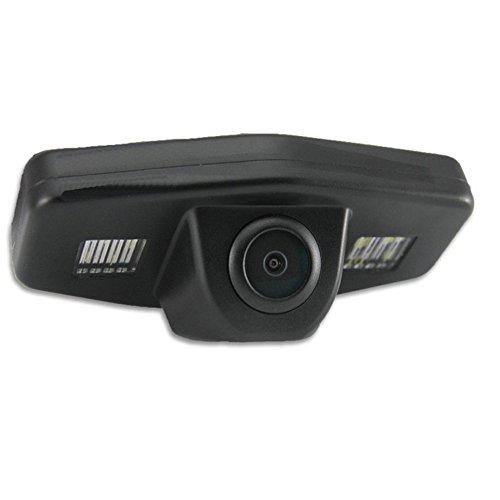 akhan-tuning CAM41 - Videocamera a Colori per retromarcia, con Linee Guida, per Honda Accord Honda...