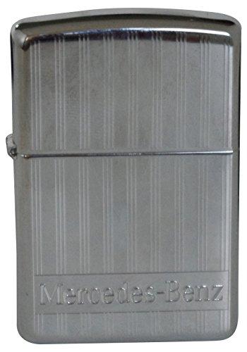 Original Zippo Feuerzeug Mercedes Benz Linien & Schriftzug