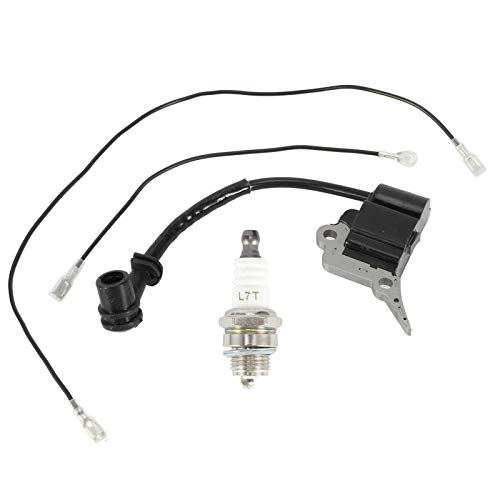 Encendido de motosierra, módulo de bobina de encendido bujía apta para Zenoah/Timberpro/Lawnflite Repuestos de motosierra para motosierra Zenoah/Timberpro/Lawnflite 2500 25CC