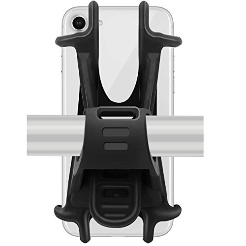 Ailun Motorcycle Mountain Bike Phone Mount Holder Stand Accessories Universal Adjustable Bicycle Harley Davidson Handlebar Rack Compatible iPhone 8Plus 8 Galaxy s10 S9 S8 Plus Note 10