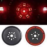 Spare Tire Brake Light Wheel Light LED 3rd Third Brake Light Lamp Ring for Jeep Wrangler 1997-2017 JK TJ LJ YJ...