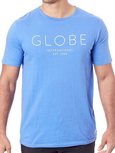 Globe Company Tee II T-Shirt pour Homme Atoll Blue Taille S