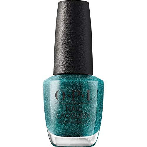 OPI Nail Lacquer, This Color's Making Waves, Blue Nail Polish, Hawaii Collection, 0.5 fl oz