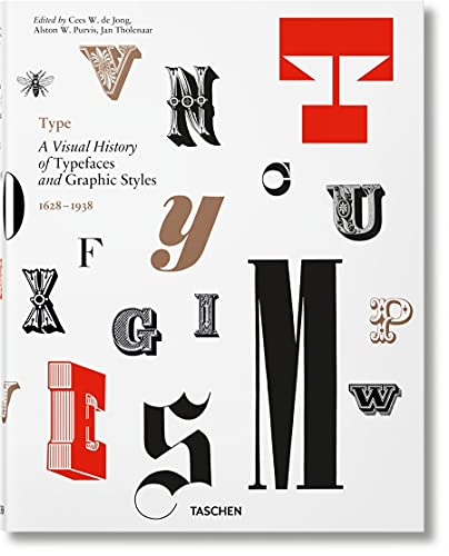 Type. A Visual History Of Typefaces & Graphic Styles (Multilingual Edition)