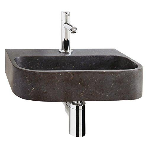 Differnz 38.015.01 - Pequeño Oval Lavarse las manos de piedra azul