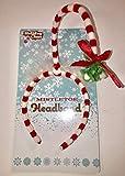 Holiday Cheer Hanging Mistletoe Headband