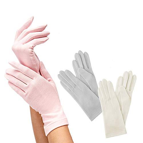 G12-0071_PK 就寝用 裏シルクうるおい手袋 あったか 薄い 手荒れ ハンドケア 保湿 レディース 女性 おやす...
