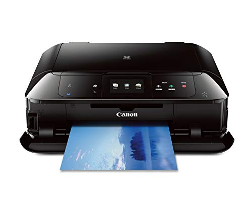 CANON MG7520 Wireless Color Cloud Printer with Scanner and Copier, Black (Discontinued By Manufacturer) (Renewed)
