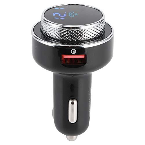 Yctze Car MP3 Bluetooth Reproductor de música Transmisor FM automático portátil QC3.0 Cargador rápido para automóvil
