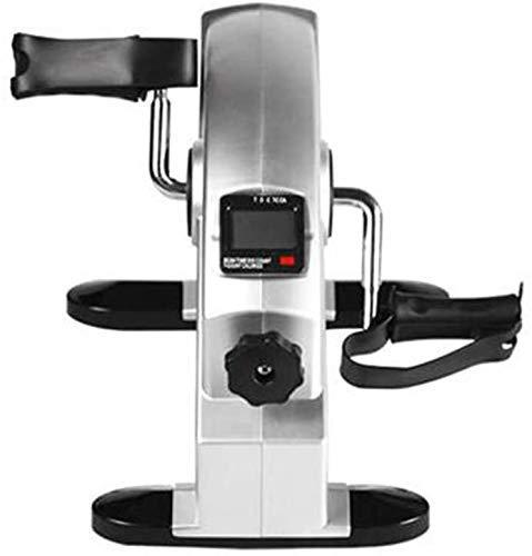 Mini vélo d'exercice RTOPW - Pédales d'entraînement multifonction - Écran LCD pour exercices des jambes et des genoux, bureau sous l'aérobic, 2, -