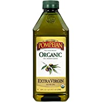 Pompeian Organic Extra Virgin Olive Oil, 48 Ounce
