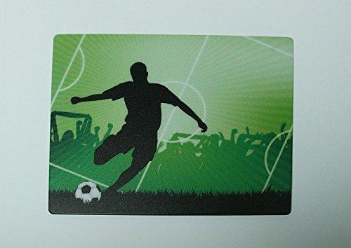 Mousepad / Mauspad Fußball / Fußballspieler auf Spielfeld 24 x 19 cm