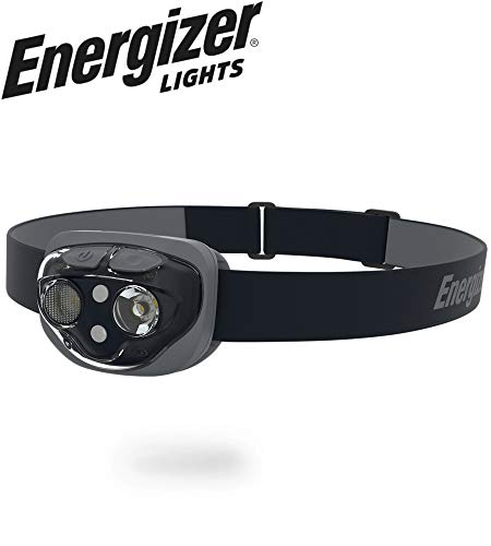 Energizer High-Powered LED Headlamp Flashlights, IPX4 Water Resistant, Super Bright LED, Multiple Light Modes, Best Headlight for Camping, Running, Outdoors, Emergency Light, Batteries Included