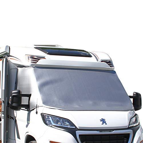 deiwo Bugschutzplane für VW Transporter Bus T4 90-03 | Frontschutzplane | Thermomatte