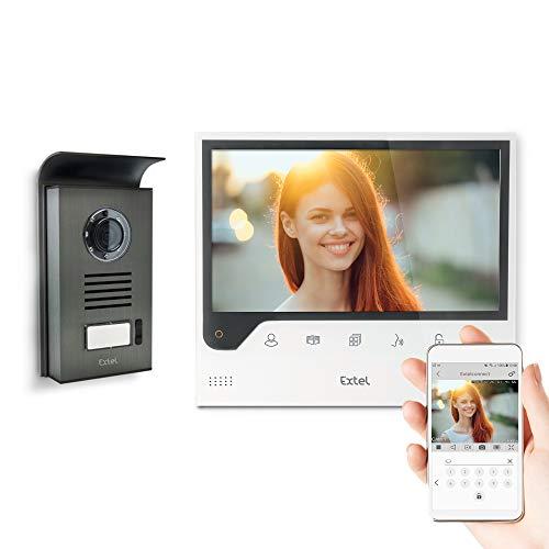 Extel – Visiophone Connect – avec Grand Écran (18cm) et Connecté à...