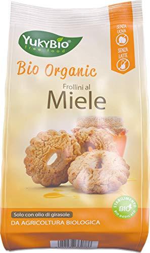 1 x Yukybio Biscotti biologici Rustici al Miele 300g