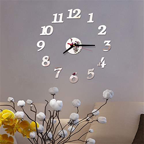 N/ A Reloj de Pared 3DDigitale wandklok Modo woonkamer klok Grote wandklok DIY decoratieve landschap