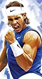 zolto Collection Motivational Poster Rafael Nadal, 12 x 18