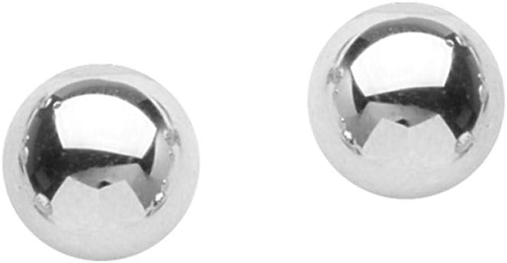 Ball Earrings, 4 mm Ball Stud Earrings