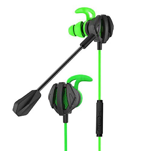 maofan PS4 CSGO Spiel Headset, Mikrofon Lautstärkeregelung Headset, PC Gamer Headset Grün