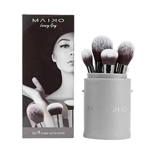 MAIKO Set 9 Brochas Luxury Grey