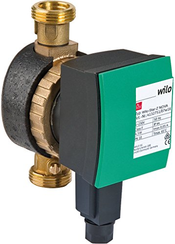 Wilo Star-Z NOVA A, 15A 140mm, hocheffiziente Zirkulationspumpe Trinkwasserpumpe