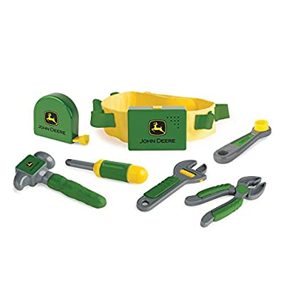 TOMY John Deere Deluxe Talking Toolbelt Preschool Toy